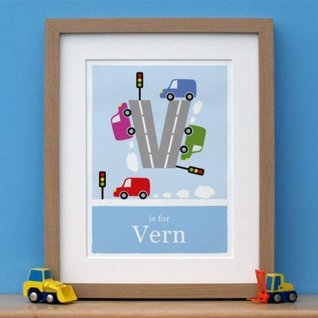 personalised van print main image