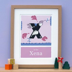 personalised x-ray print