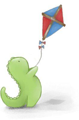 summer sale at Doodlebump - flying kite