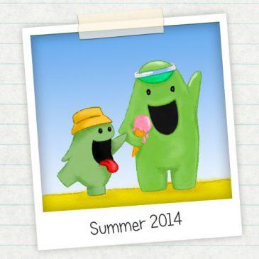 illustration friday summer
