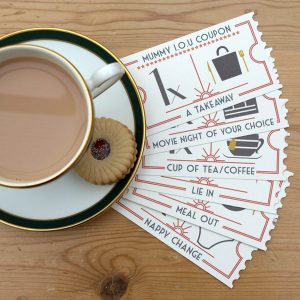 personalised IOU coupons