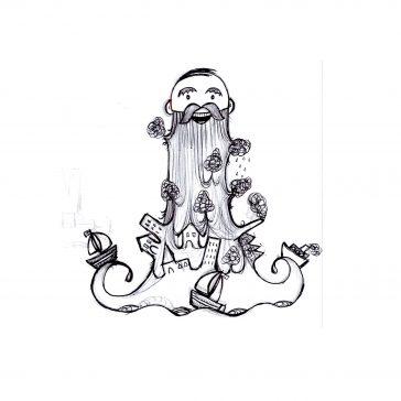 Illustration Friday - Beard