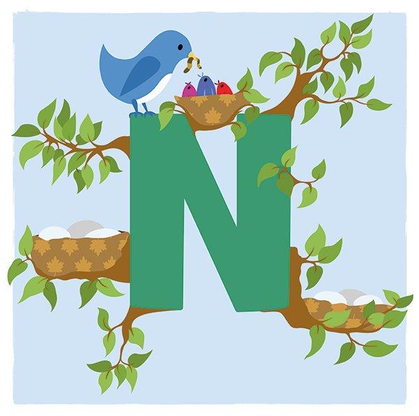 Illustration Friday - Doodlebump nest