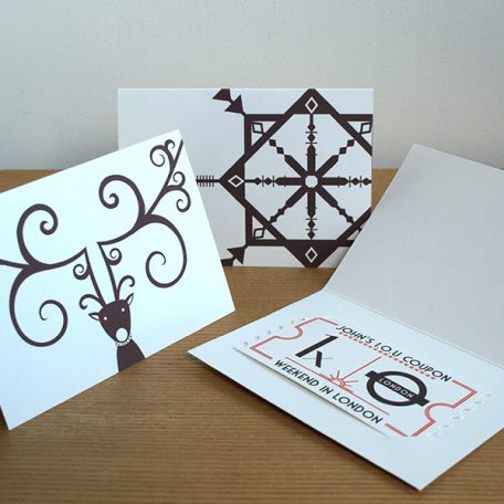 Personalised Christmas IOU Card